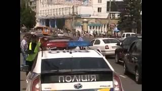 ДТП в Сумах  Полицейская машина врезалась в тойоту(, 2016-07-04T09:27:59.000Z)