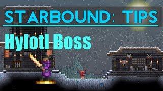 Starbound Tips: Hylotl Boss