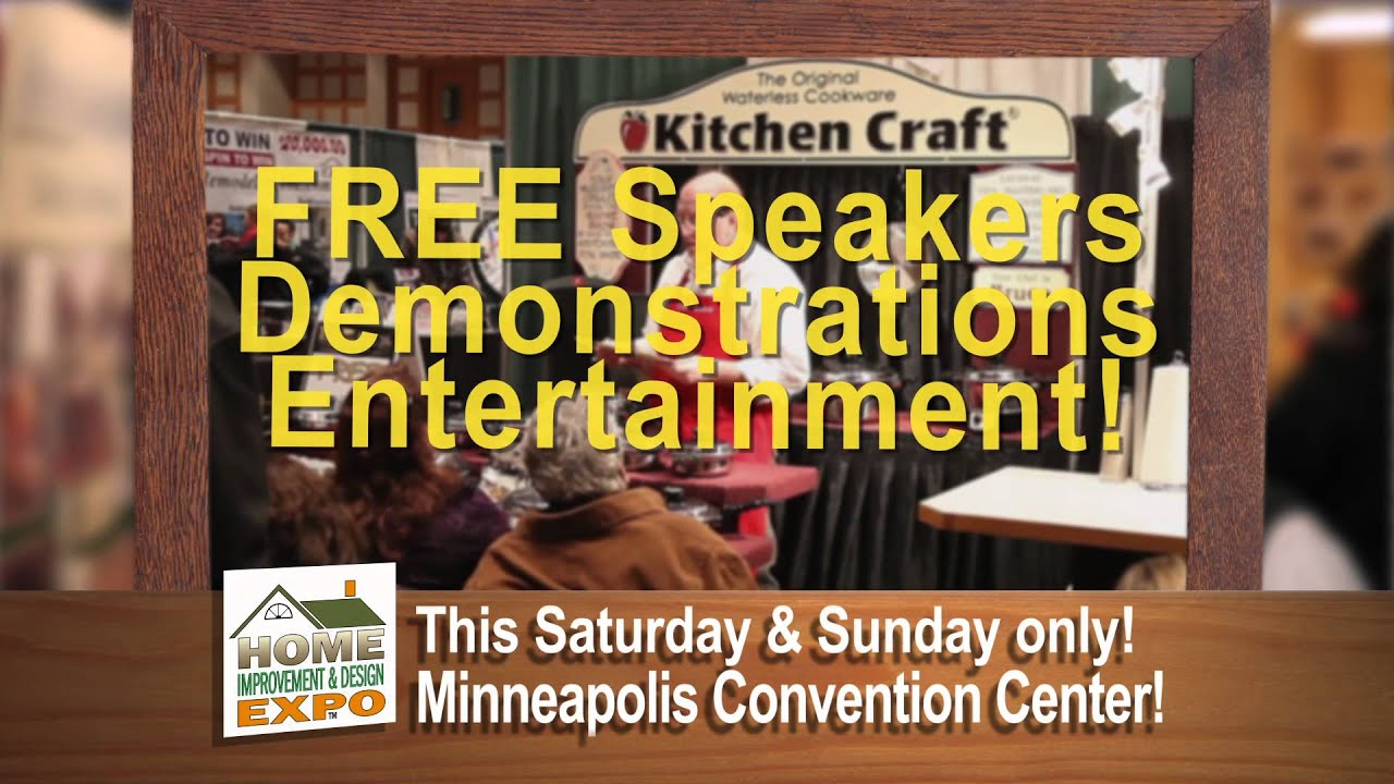 Minneapolis Home Improvement And Design Expo Spot Youtube