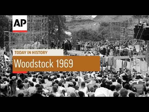 Woodstock  1969  Today in History  15 Aug 16