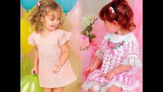 Вязание Платьев Крючком для Детей 2019 / Crochet Dresses for Children / Gehäkelte Kleider für Kinder