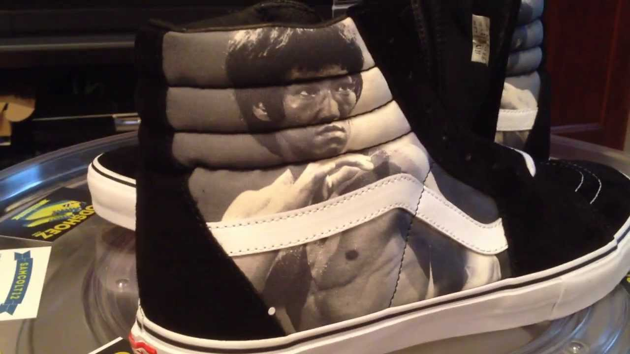VANS x Supreme Sk8-Hi Pro - (Bruce Lee) White colorway - 11-5-13 - YouTube 32b8d5a8307d