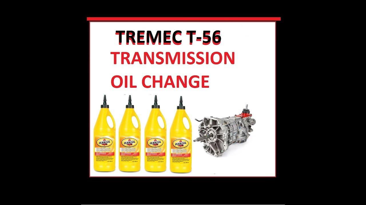 Tremec t transmission oil change cobra