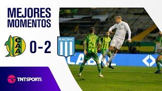 GANÓ LA ACADEMIA 🔥 Aldosivi vs Racing Club (0-2)   Fecha 3 - Torneo de la Liga 2021
