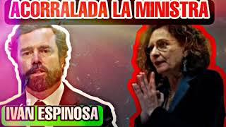 IVÁN ESPINOSA ACORRALA A LA MINISTRA DE HACIENDA