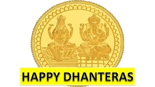 Best Happy Dhanteras, Deepawali 2019 SMS wishes, Greetings, Whatsapp Video Message