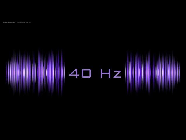 Gamma Brain Waves Meditation 40 Hz frequency 1 Hr Producing Focus, Calmness, Happiness
