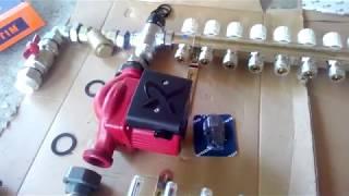 видео Смесительный узел для теплого водяного пола своими руками, Valtec