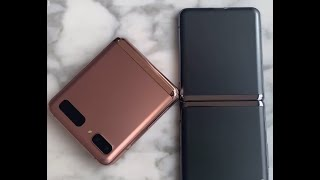 Samsung Galaxy Z Flip 5G First Look Hands On LEAKED 2 !!
