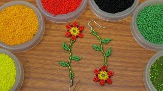 Aretes de flor