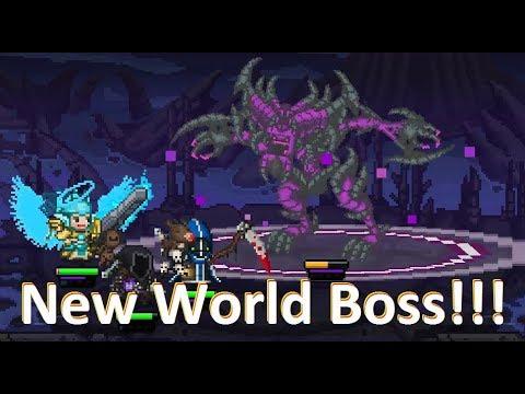 New World Boss w/McProseph - (Bit Heroes)