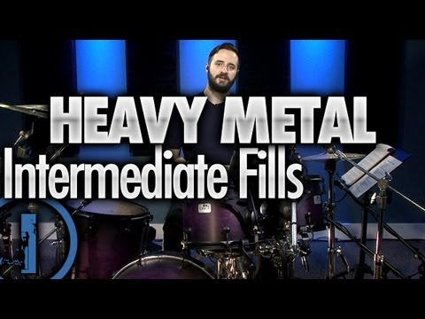 heavy metal drumming intermediate drum fills youtube. Black Bedroom Furniture Sets. Home Design Ideas