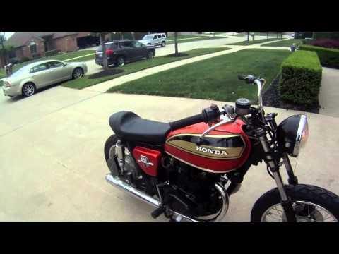 1973 Honda CB450 Street Tracker