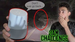 DO NOT ASK GOOGLE HOME ABOUT CLINTON ROAD AT 3:00 AM *THIS HAPPENS* CLINTON ROAD 3 AM CHALLENGE
