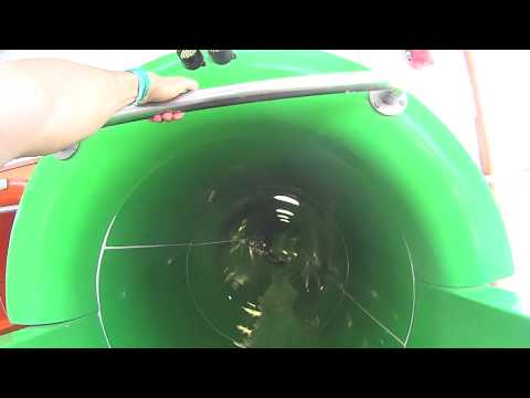UFO Water Slide at Annagora Waterpark