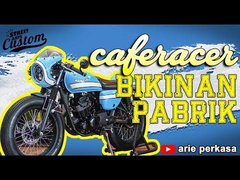 Modifikasi W175  Caferacer - Kayak Bikinan Pabrik