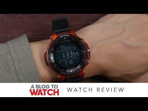 Casio PRO TREK Smart WSD-F30 Watch Review | aBlogtoWatch