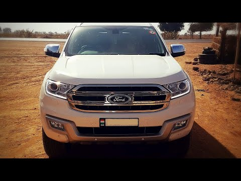 2018 Ford Endeavour Titanium 3.2L 4WD AT | Diamond White Color !!