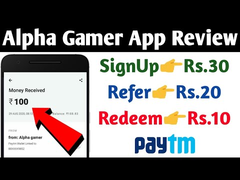 Alpha Gamer App Review | Earn upto Rs.100 Paytm Cash daily | New Earning App 2020 | Technical Gyan