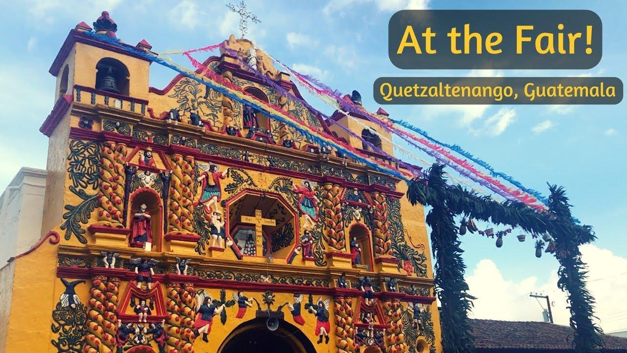 Enjoying the Fair | Xela, Guatemala