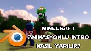 Minecraft Animasyonlu İntro Nasıl Yapılır? |HG Animation|