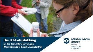 UTA Ausbildung - Umweltschutz-technischer Assistent | Bernd Blindow Gruppe