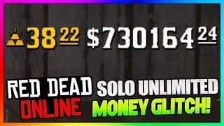 *NEW* Red Dead Online MONEY GLITCH! - SOLO Best Easy Fast MONEY Exploit/Method In RDR2 Online!