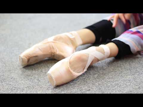 Preparing Pointe Shoes