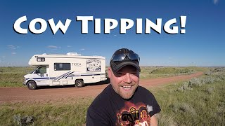North Dakota Badlands & Cow Tipping