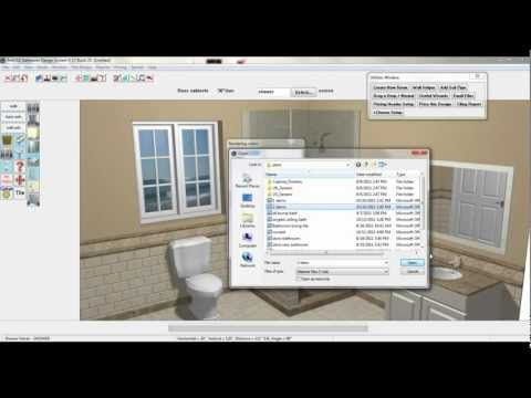 BathCAD Complete 3-D Rendered Bathroom in Under 4 Minutes.mp4
