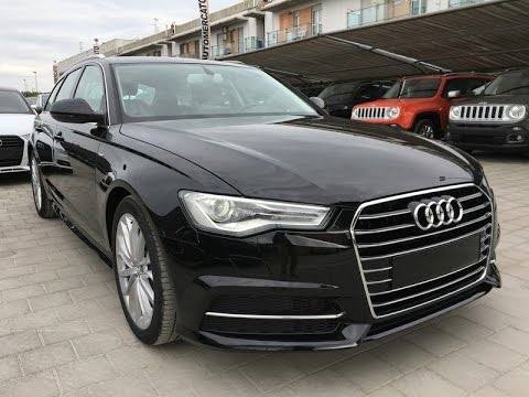 audi a6 avant 2 0 tdi 190cv ultra s tronic business plus s line km0 39 16 nero youtube. Black Bedroom Furniture Sets. Home Design Ideas