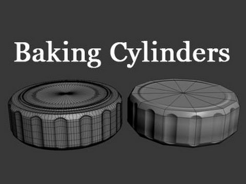 Game Assets - Baking Cylinders