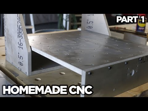 """Stupid Strong"" CNC Build - PART 1 - THE FRAME"