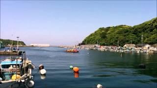 松浦市 鷹島町阿翁浦 和船競争20150505 第4レース