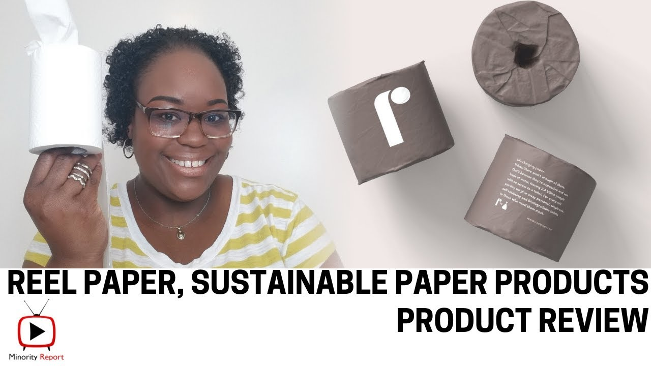 Reel Paper, Product Review #BlackOwned