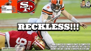 #MNF Cleveland Browns vs. San Francisco 49ers Week 5 Highlights | NFL 2019
