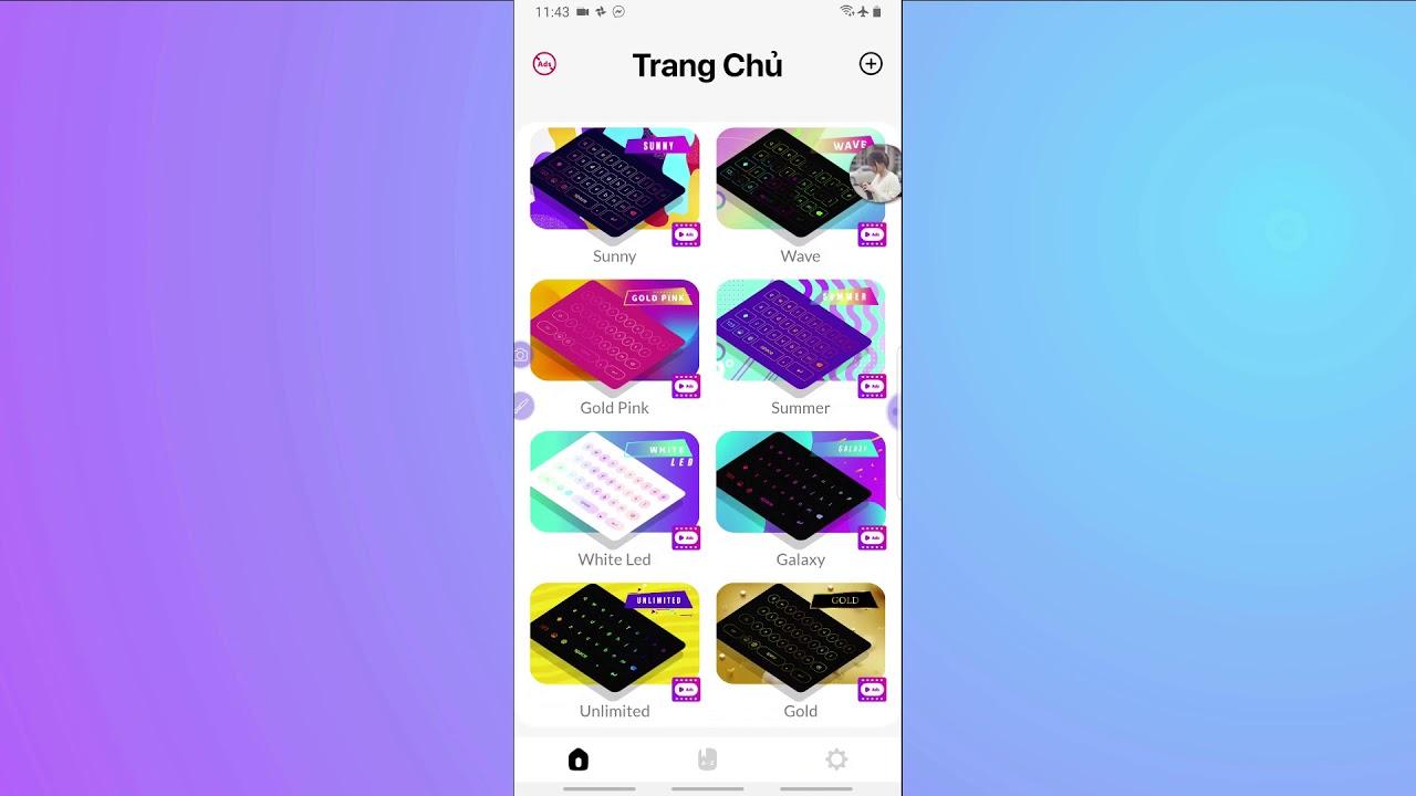 Hướng dẫn cài bàn phím LED RGB đổi màu cực đẹp Android