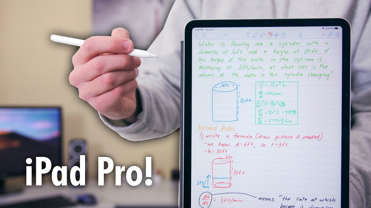 My First Semester with the iPad Pro 11 inch: Student's Review