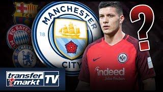 Begehrter Stürmer: Nun auch Manchester City an Jovic dran? | TRANSFERMARKT