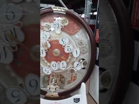 Musical clock at Sams