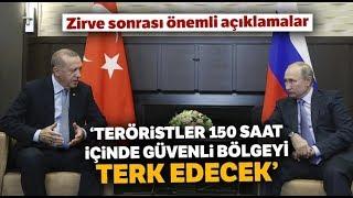 """Cumhurbaşkanı Erdoğan: """"Suriye Toprakları Türkiye'nin Çabalarıyla Yeniden Huzura Kavuştu"""""""