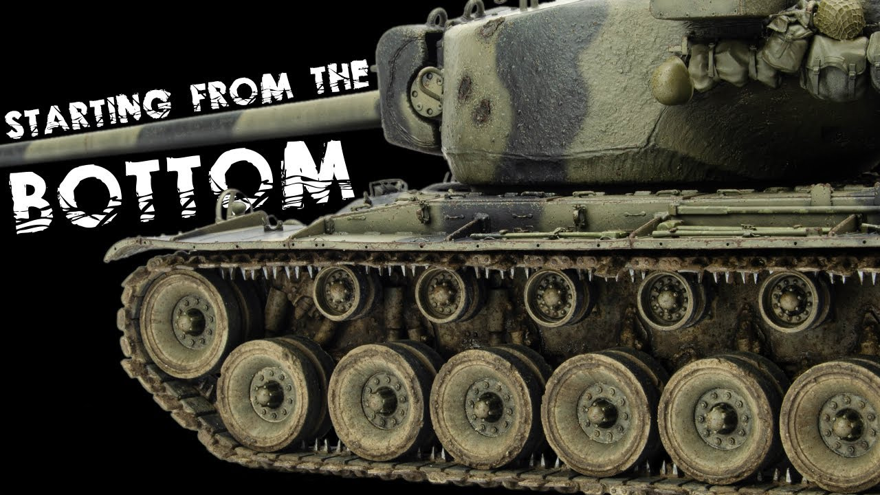 Starting With MUD And CHIPPING?   T29E3 Weathering