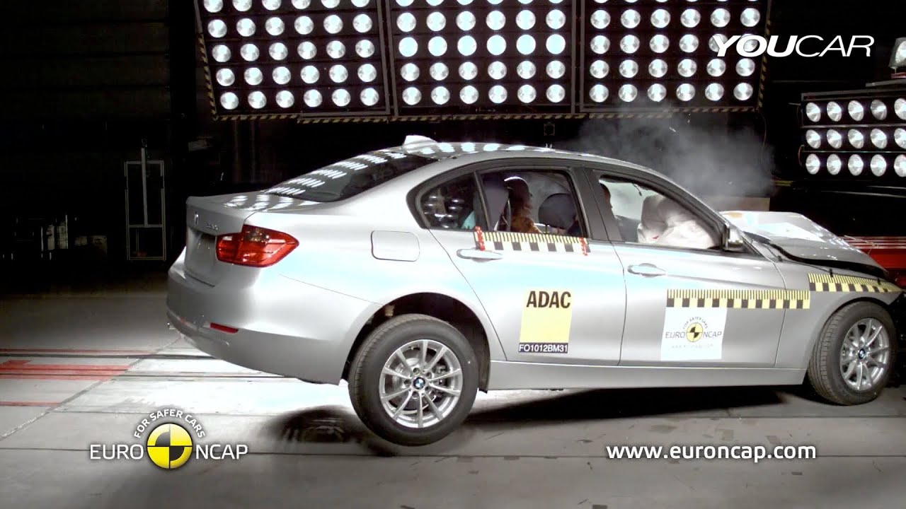 2012 Bmw 3 Series Crash Test Youtube
