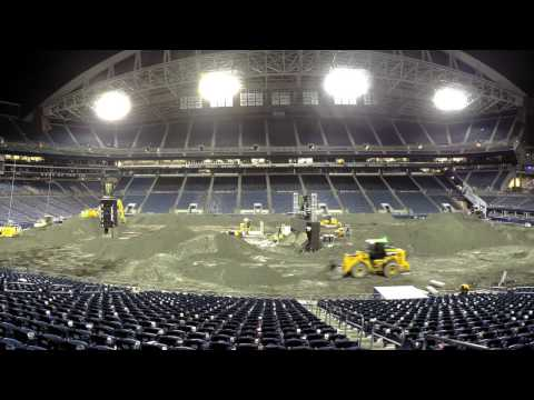 Supercross  Export timelapse  McKee Enterprises