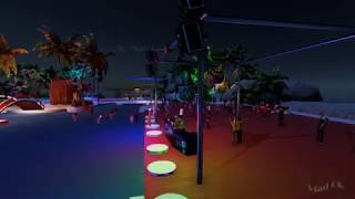 3DXChat multi player (18+) game for adults. Night Club Pool Party by DanyFR