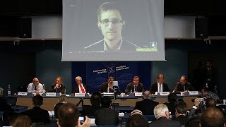 Edward Snowden claims US spied on human rights groups