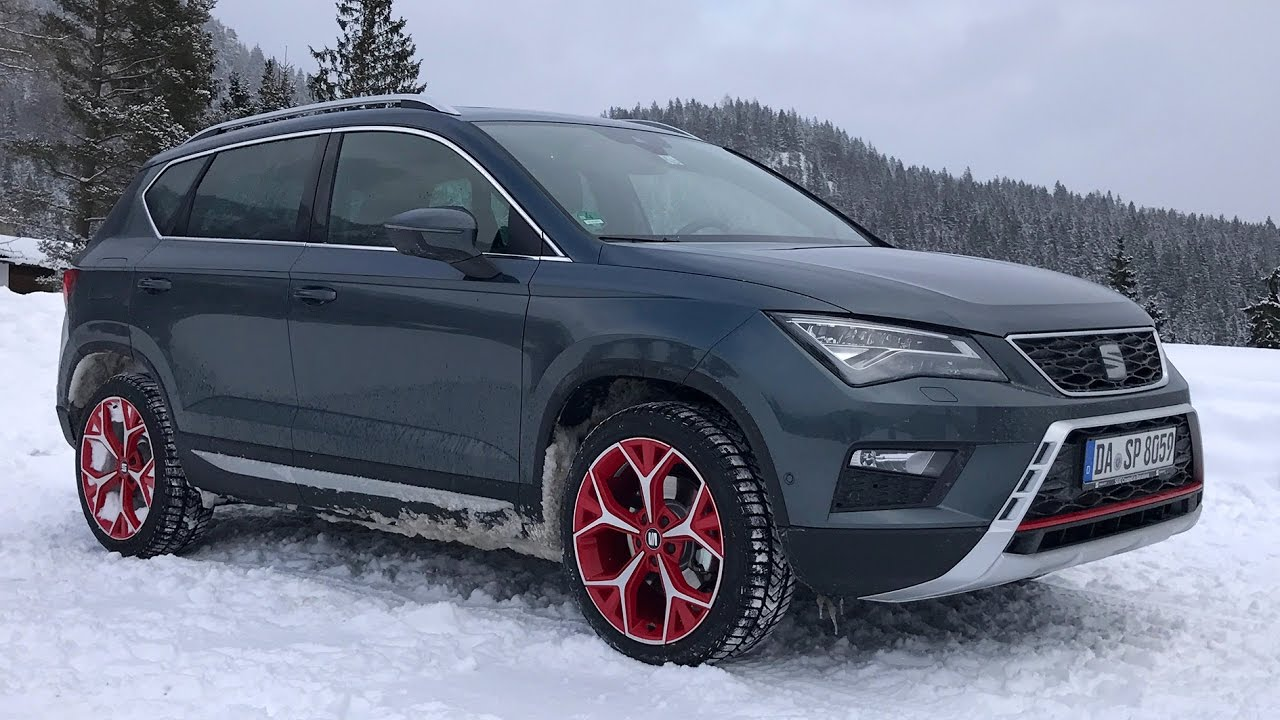 seat ateca snow experience 2017 test review youtube. Black Bedroom Furniture Sets. Home Design Ideas