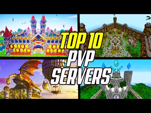 Top 10 Minecraft PVP Servers (KitPVP/Factions/Duels)