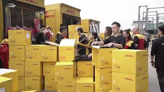 DHL x Vetements pop-up sale Hong Kong - Highlights