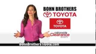 Camry, Corolla- Bohn Brothers Toyota